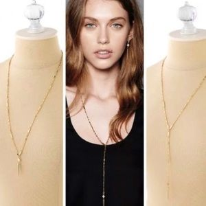 Stella & Dot, Bianca Lariat Necklace in Gold